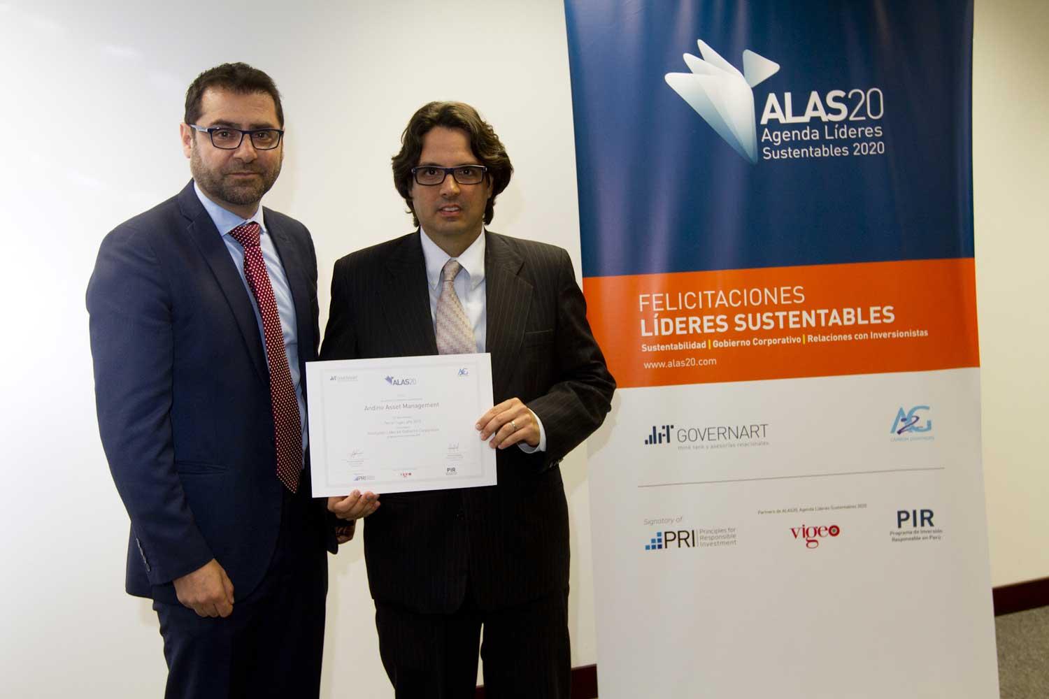 Premiación ALAS20 Perú año 2015
