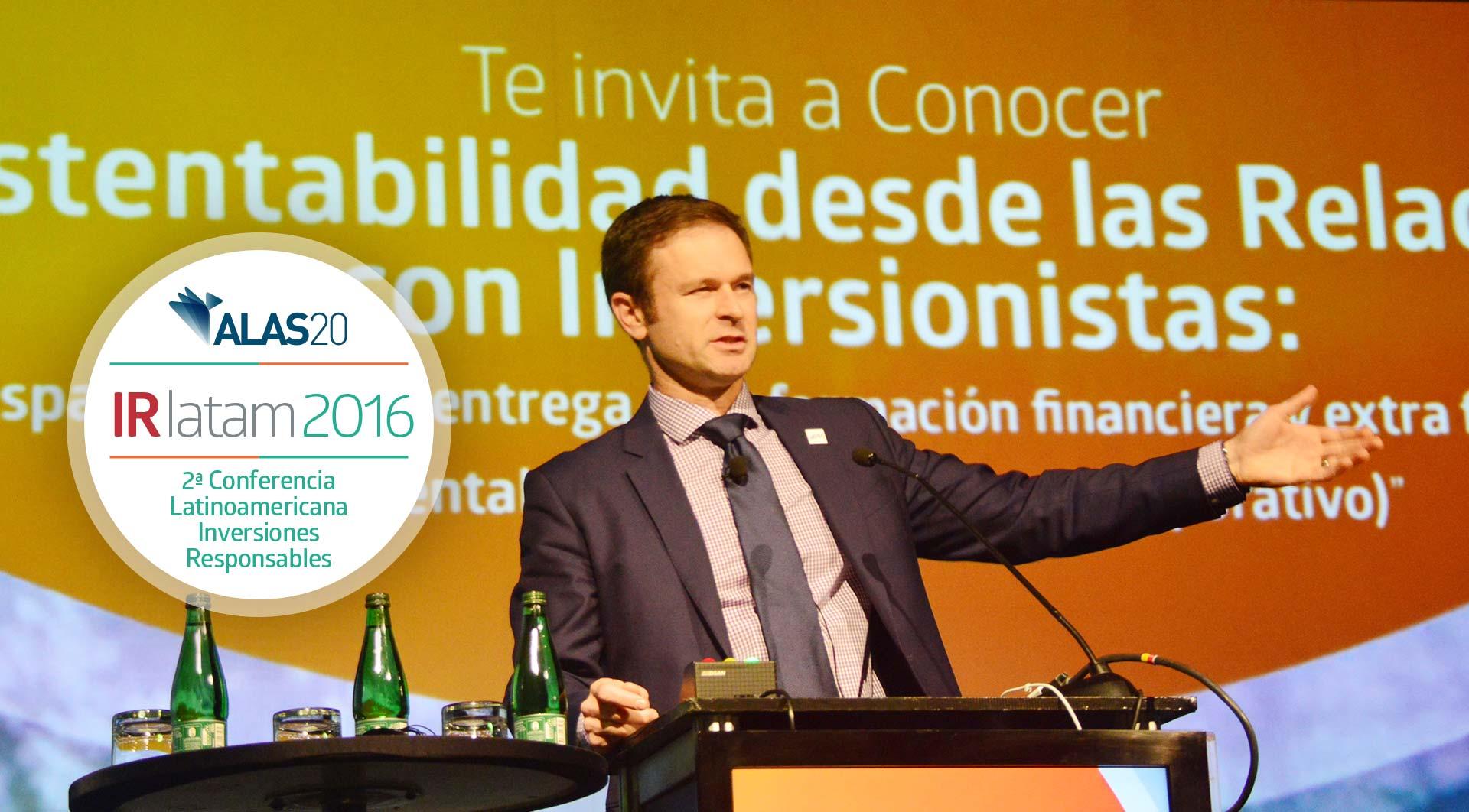 IR Latam 2016: 2ª Conferencia Latinoamericana de Inversiones Responsables