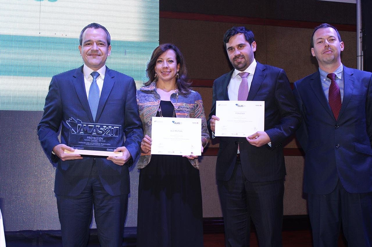 Ceremonia Premiación Colombia 2016 ALAS20